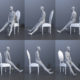 Pose Reference Assis Gratuit
